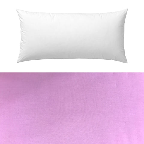 Lilac Cotton Pillow Cover