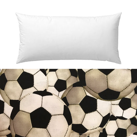 Soccer Guy Cotton Pillow Cover