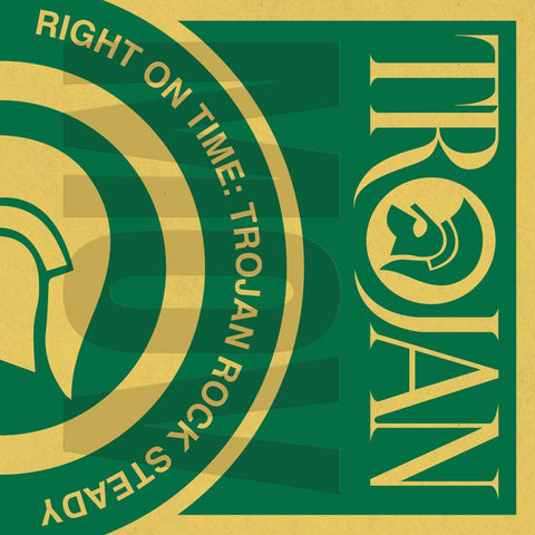 Various Artists - RIGHT ON TIME - TROJAN ROCK STEADY (Green Vinyl)