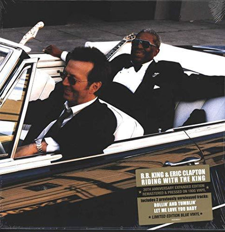 BB King & Eric Clapton - Riding With The King (Blue Vinyl)