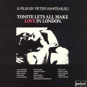 Various - TONITE LET'S ALL MAKE LOVE IN LONDON - OST