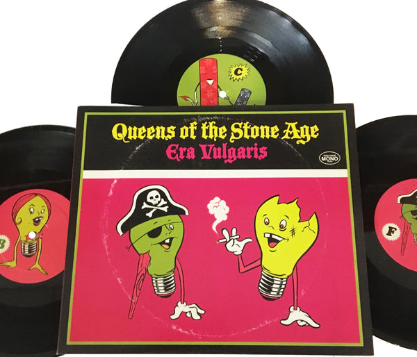 Queens Of The Stone Age - Era Vulgaris [3x10'']