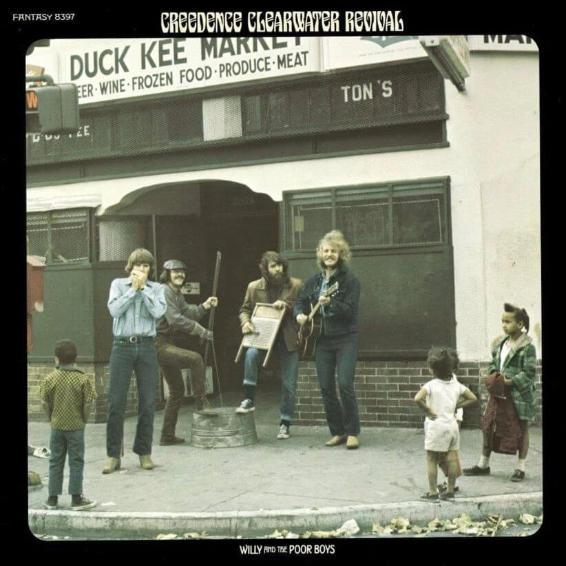 Creedence Clearwater Revival - Willy And The Poor Boys (Half Speed Mastered)