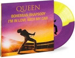 Queen - Bohemian Rhapsody/I'm In Love With My Car 7""
