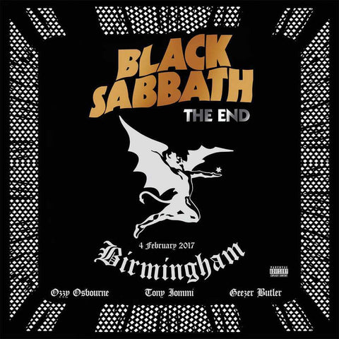 Black Sabbath - The End (Blue Vinyl)