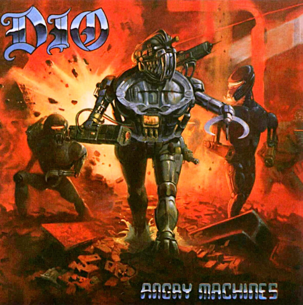 Dio - Angry Machines (Lenticular Sleeve)