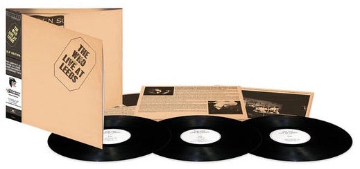 The Who - Live at Leeds 3LP Deluxe edition