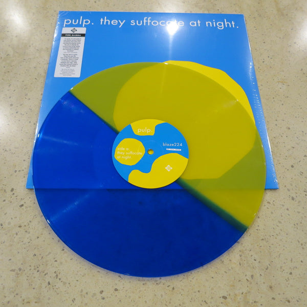 "Pulp - They suffocate at night - Ltd 12""Single"