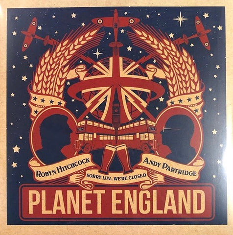 Andy Partridge and Robin Hitchcock - Planet England EP
