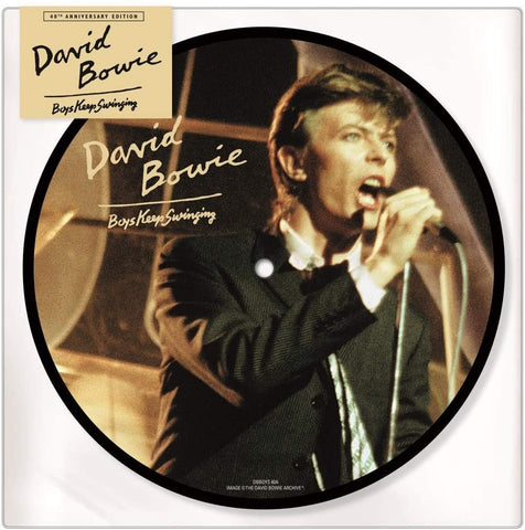 "David Bowie - Boys Keep Swinging 7"" Picture Disc"