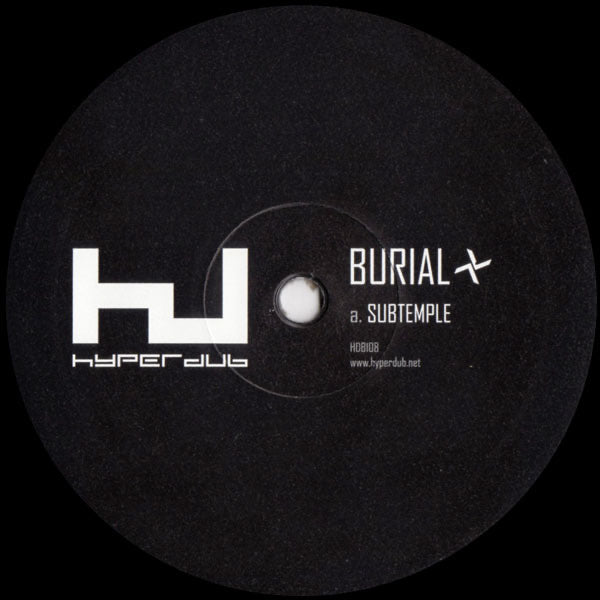 "Burial - Subtemple/Beachfires 10"" EP"