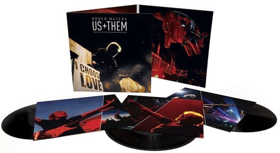Roger Waters - Us + Them (Triple LP Set)