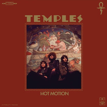 Temples - Hot Motion (Red & Black Marbled Vinyl)