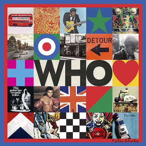 The Who - Who (Black LP)