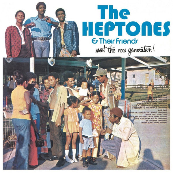 The Heptones & Their Friends - Meet The New Generation (Orange Vinyl)