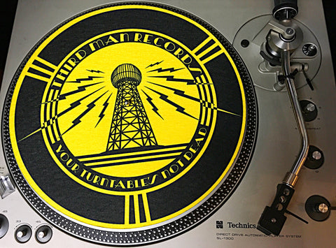 Third Man Records Turntable Slip Mat