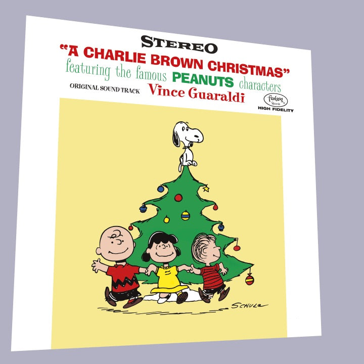 Vince Guaraldi Trio – A Charlie Brown Christmas (70th Anniversary)