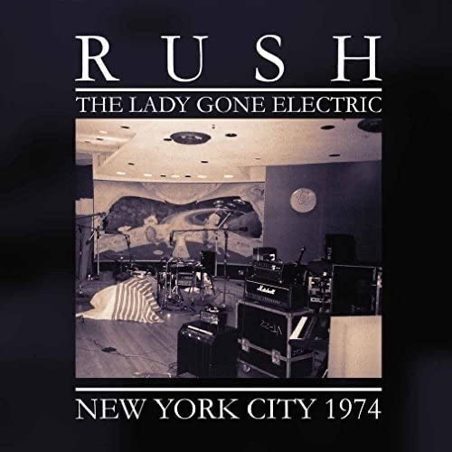 Rush - The Lady Gone Electric (White Vinyl)