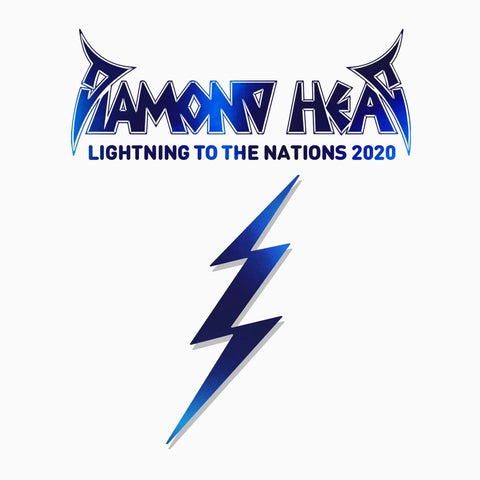 Diamond Head - Lightning To The Nations (Limited Edition Blue Vinyl)