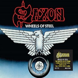 Saxon Wheels Of Steel - (Limited Blue & White Splattered Vinyl)