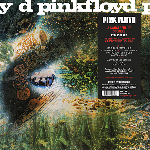 Pink Floyd - A Saucerful of Secrets 2016 Reissue
