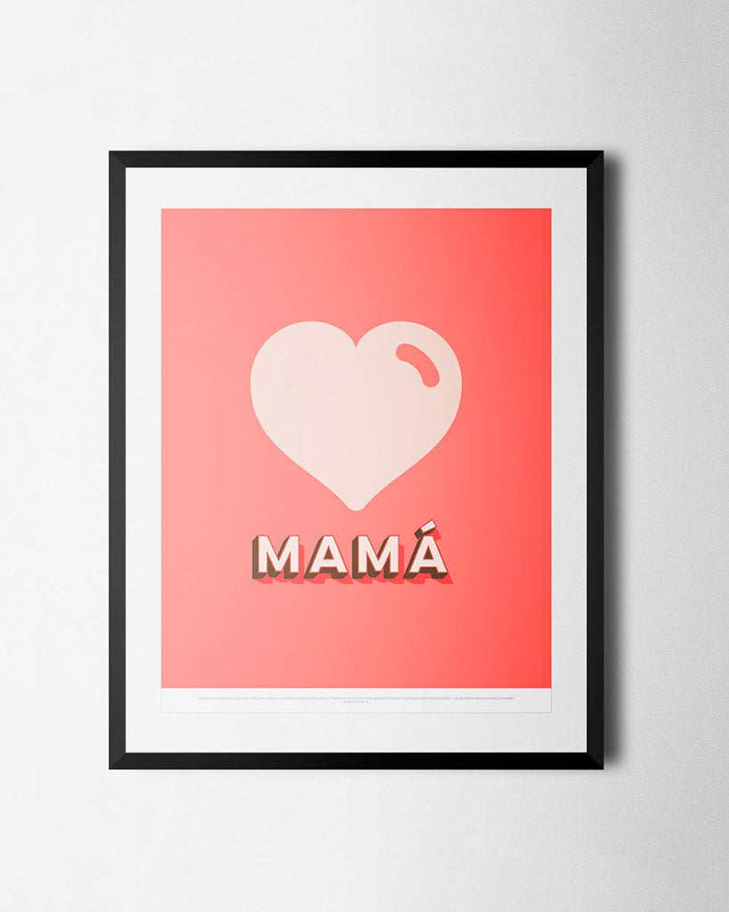 Cuadro Mamá de The Build Love Company® en www.thebuildlove.co