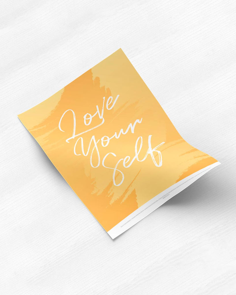 Poster Love Your Self de The Build Love Company® en www.thebuildlove.co