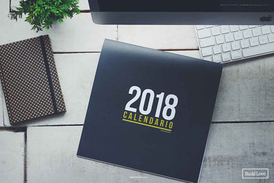 Calendario 2018 por Build Love® en www.buildlove.cl