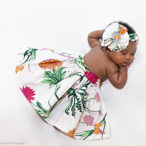 African Print New Born Outfit - Nova