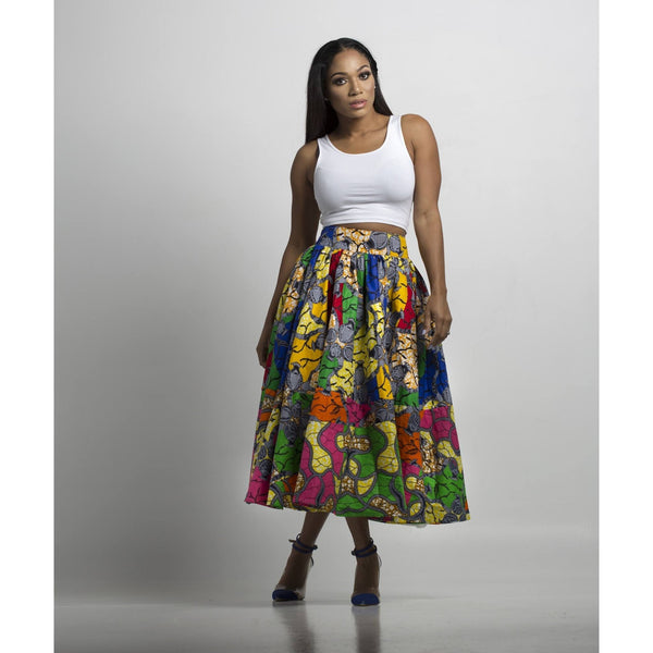 Women African Skirt - N'omose Couture