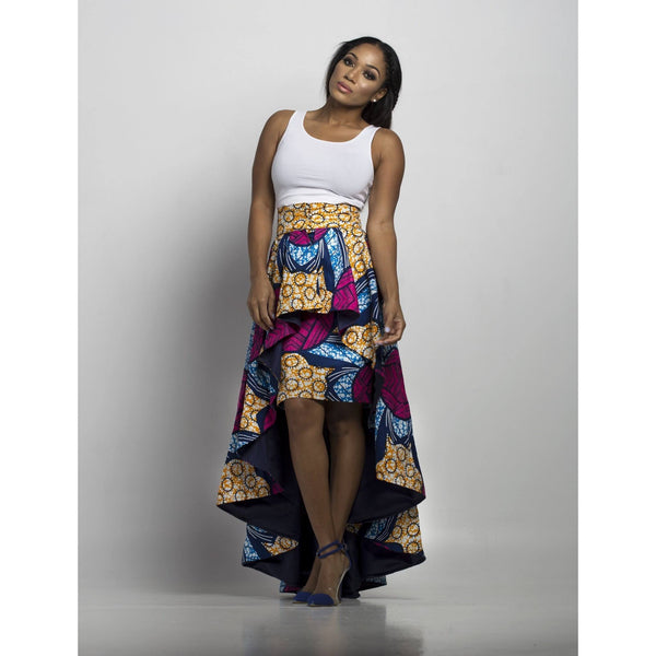 African Skirt - Pink - N'omose Couture