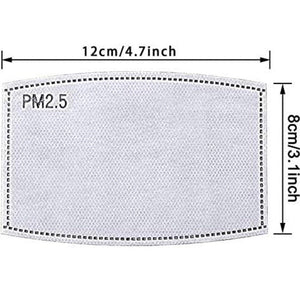 PM2.5 Filter for African Print Face Masks