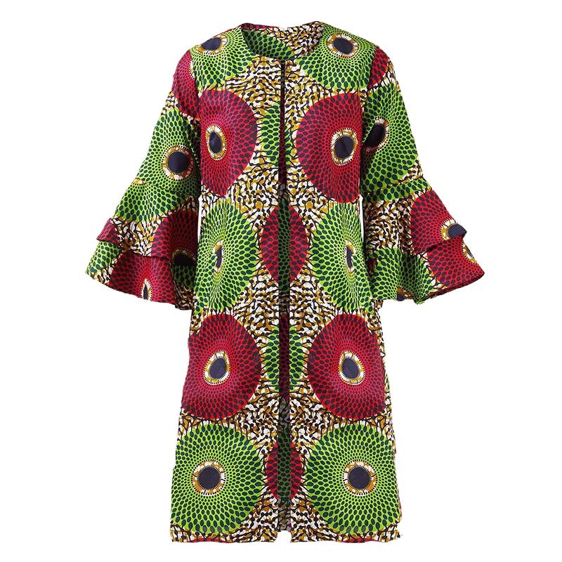 Lizzy African Print Dress Jacket