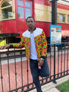 Men Africa Bomber Jacket