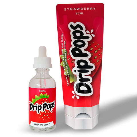 7DAYS DRIP POPS STRAWBERRY 60ML