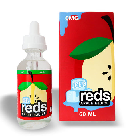 7DAYS REDS APPLE ICED 60ML