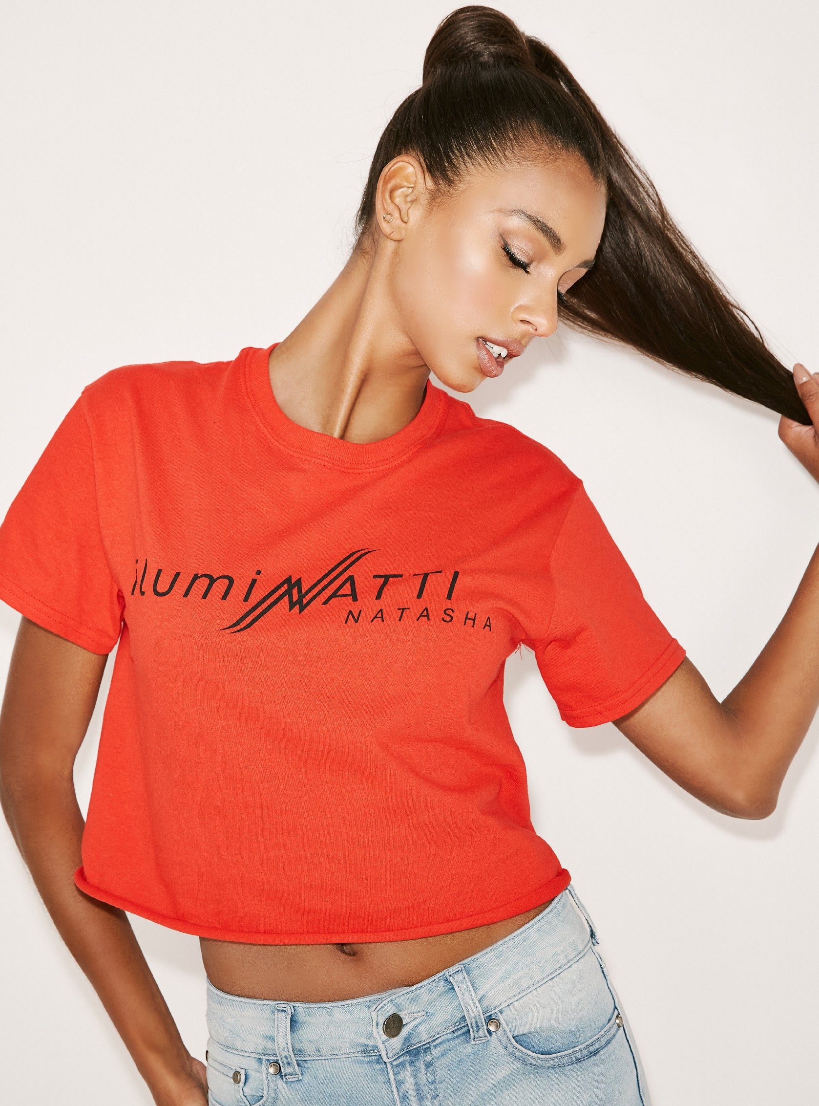 ilumiNATTI Crop Top - Red