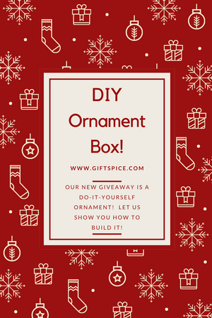 Do-It-Yourself Ornament Giveaway!