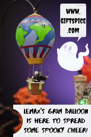 Lemax's Grim Balloon is spreading spooky cheer!