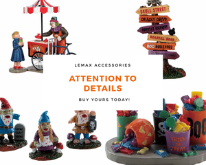 Attention to Details - Lemax Figurines