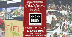 Gift Spice Lemax Christmas Houston