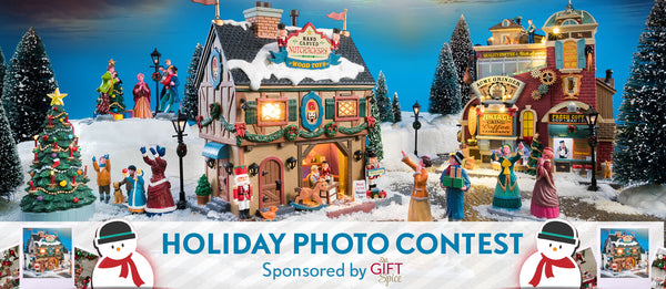 Congratulations to our Lemax & Gift Spice Creative Holiday Photo Contest Winner!
