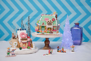 Lemax's Long Lasting Gingerbread Houses!
