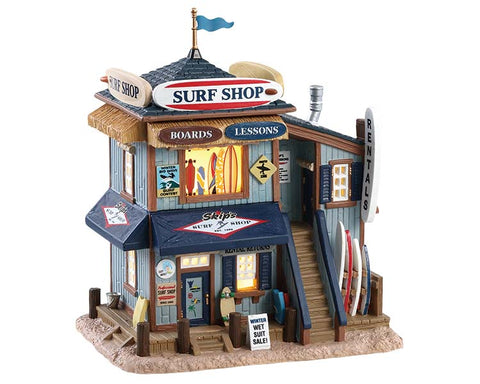 Lemax collectibles 85339 Skips Surf Shop