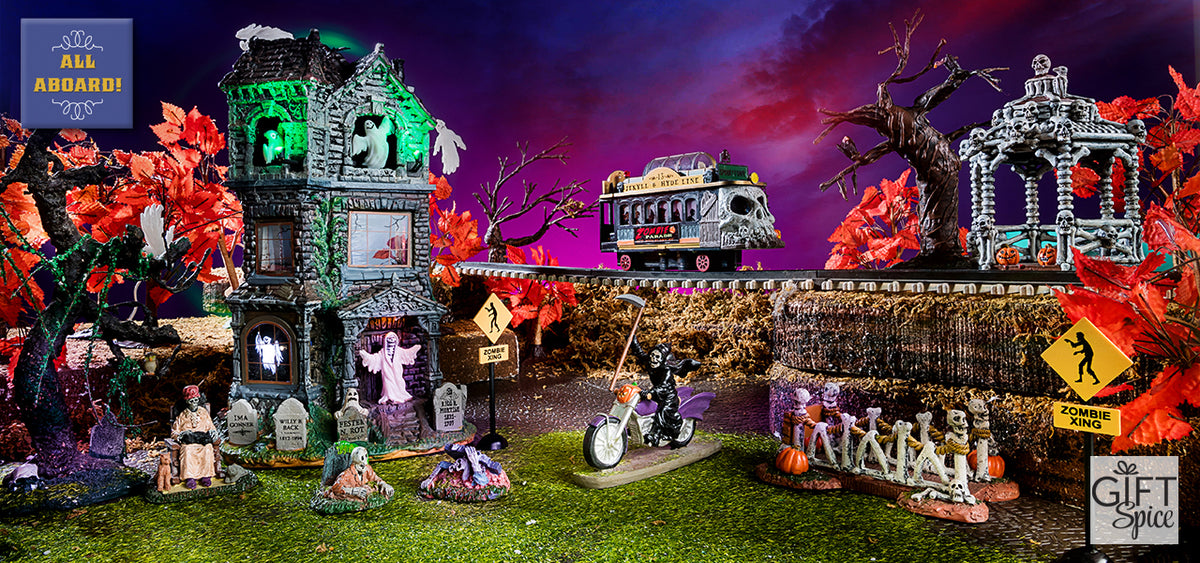 Lemax SPooky Town Train