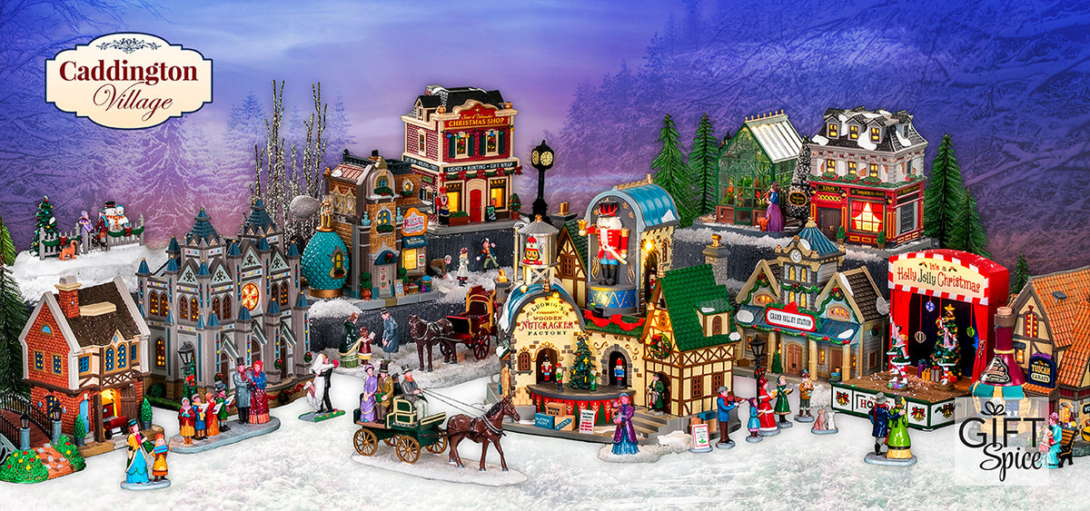 Lemax 2021 Christmas Village House Gift Spice Official Lemax Village Collection Retailer Shop Now