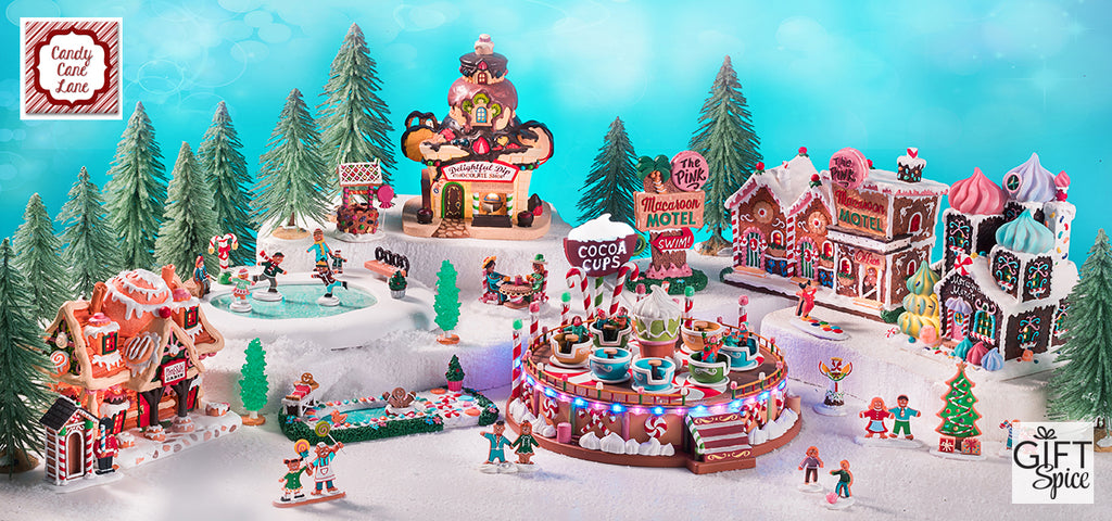 Lemax Christmas.Lemax Sugar N Spice Village Collection Candy Cane Lane