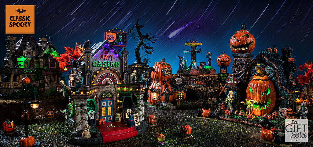 Lemax Spooky Town 2018