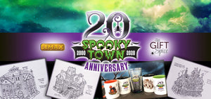 Lemax Spooky Town 20th Anniversary