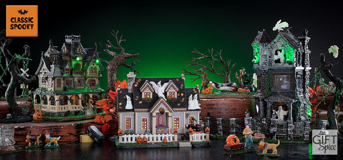 Lemax Spooky Town Halloween Village